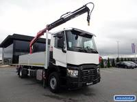 RENAULT C 380 /  SKRZYNIOWY 5,6 M / HDS FASSI 155 / EURO 6 / ROTATOR / STEROWANIE RADIOWE / - General Appearance
